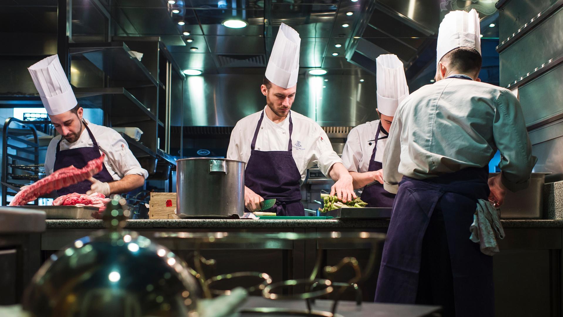 The Tour d'Argent restaurant in Paris