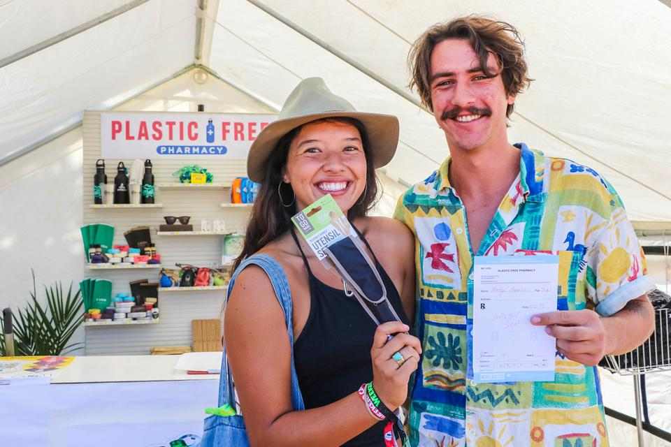 plastic sustainable festival utensils