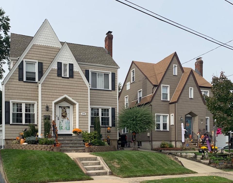 Tudor-inspired homes