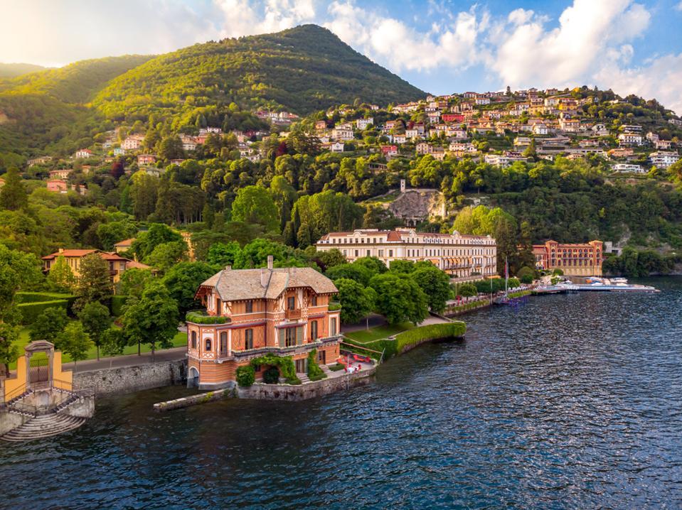 Villa d'Este on Italy's famed Lake Como has redesigned its private Villa Cima with Loro Piana.