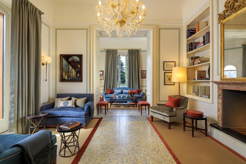 Villa Cima sitting room