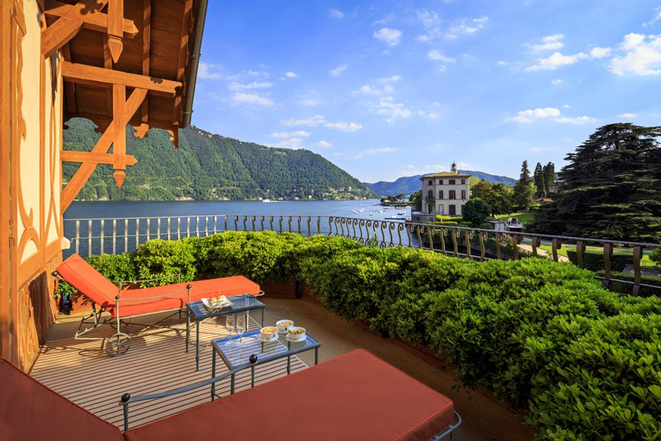 Villa Cima terrace