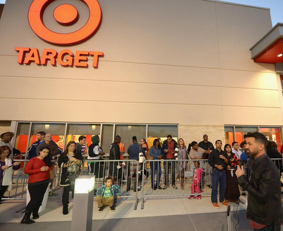 Black Friday At Target Dadeland South In Miami