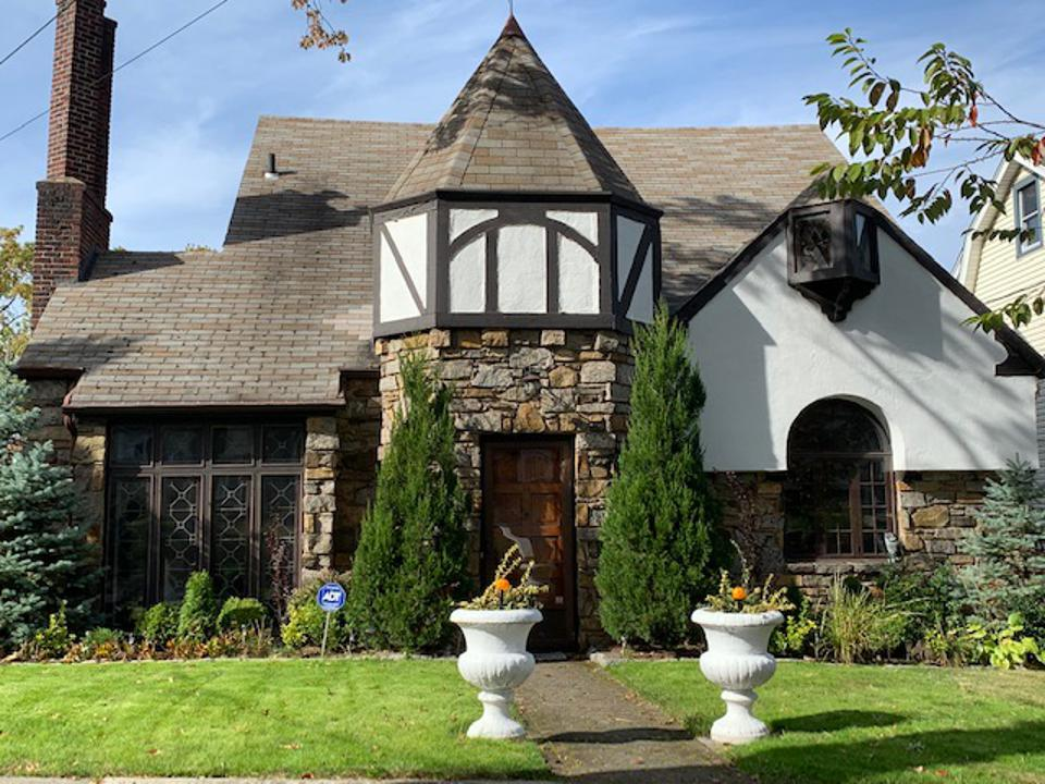 Tudor-inspired home