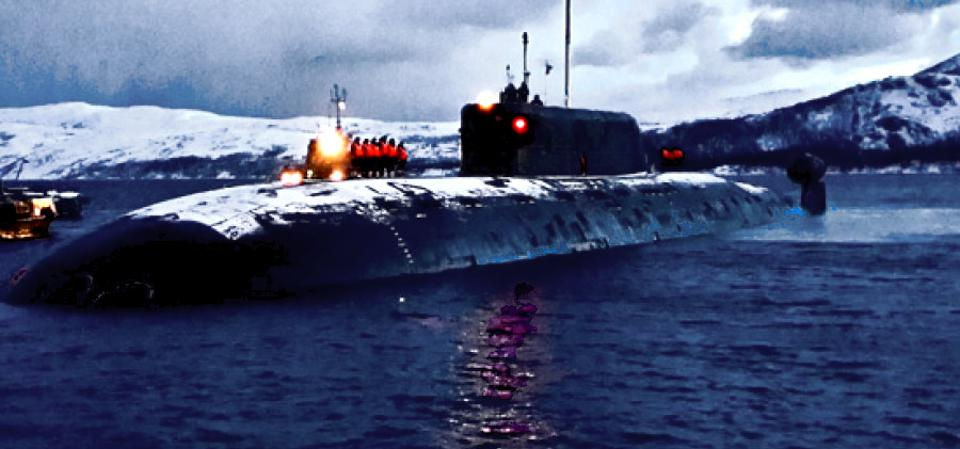 Russian Navy Sierra-II Class nuclear-powered attack submarine