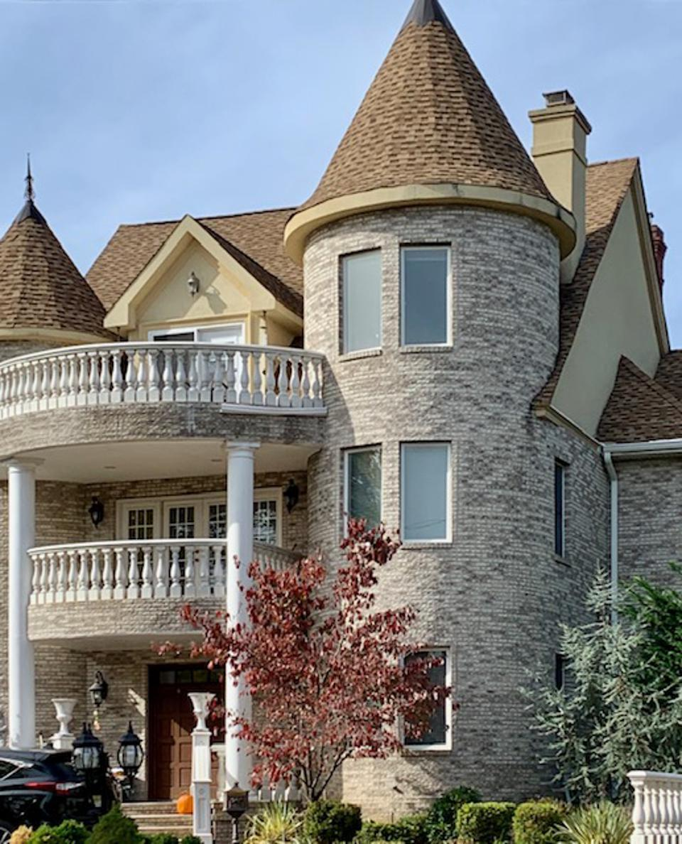 Castle-style homes