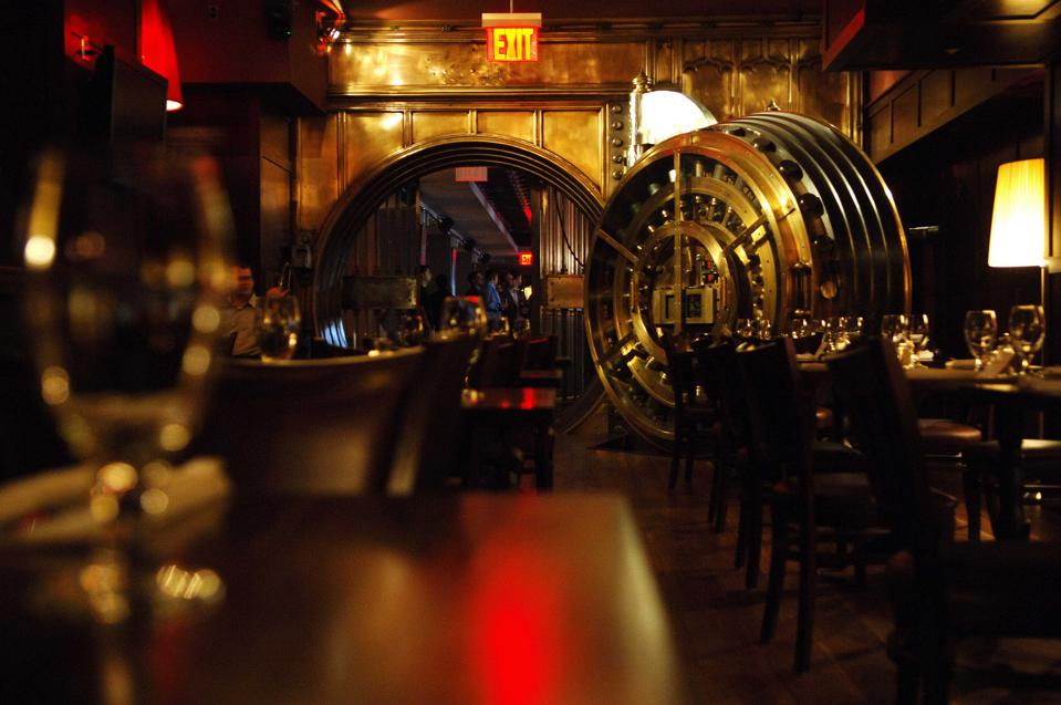 Will more bank vaults become pub decor?