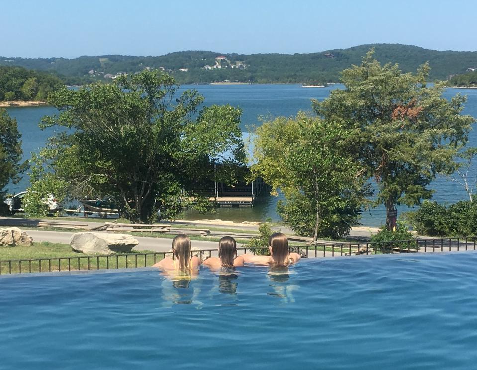 Pool at Big Cedar's Lakeside Cottages