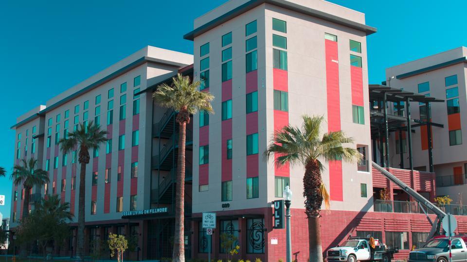 Urban Living housing complex in Phoenix