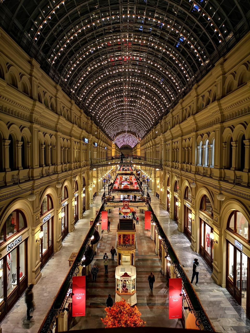 GUM shopping center in Moscow is a retail phenomena