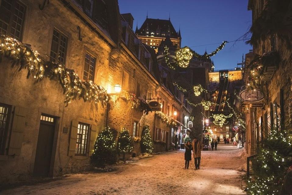Port of Quebec and Quebec Tourism
