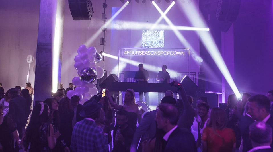 Disclosure at Four Seasons Pop Down in London