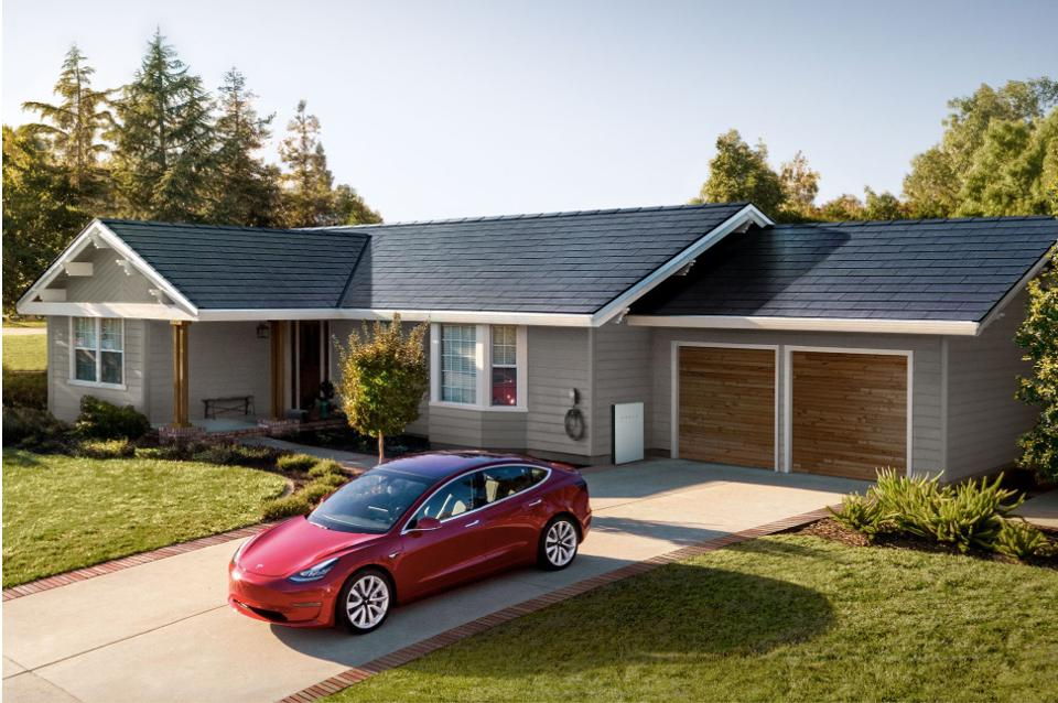 Tesla's newly unveiled solar roof