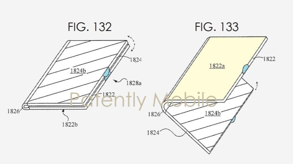 Samsung Galaxy folding smartphone patent