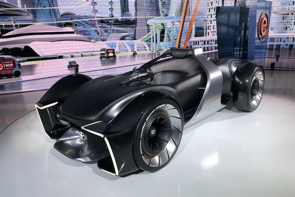 Tokyo Motor Show Goes All In For Electric, Distances The Driver