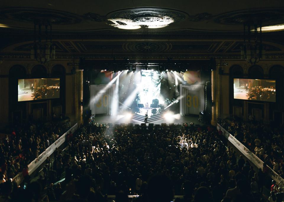 When There's Smoke: 30 Under 30 alums The Chainsmokers perform at the Masonic in Detroit.
