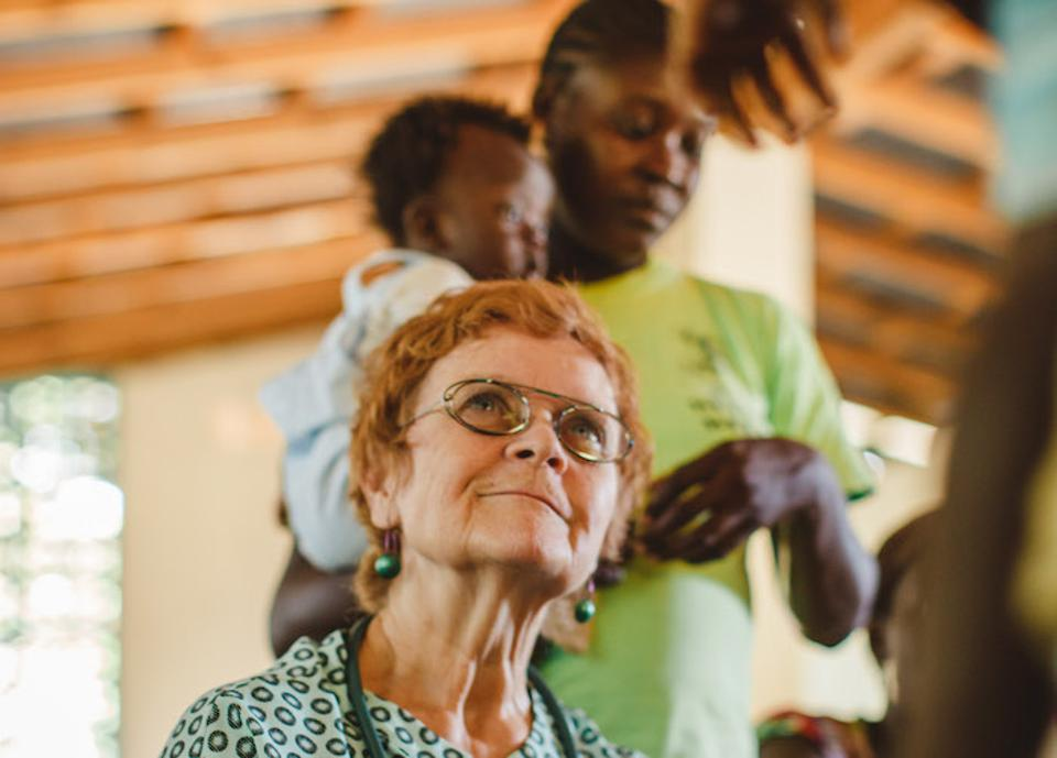 ″It really takes a huge amount of resources and persistence and follow-through with the details,″ says Dr. Patricia B. Wolff, who founded her Haiti nonprofit, Meds & Food for Kids, in 2004.
