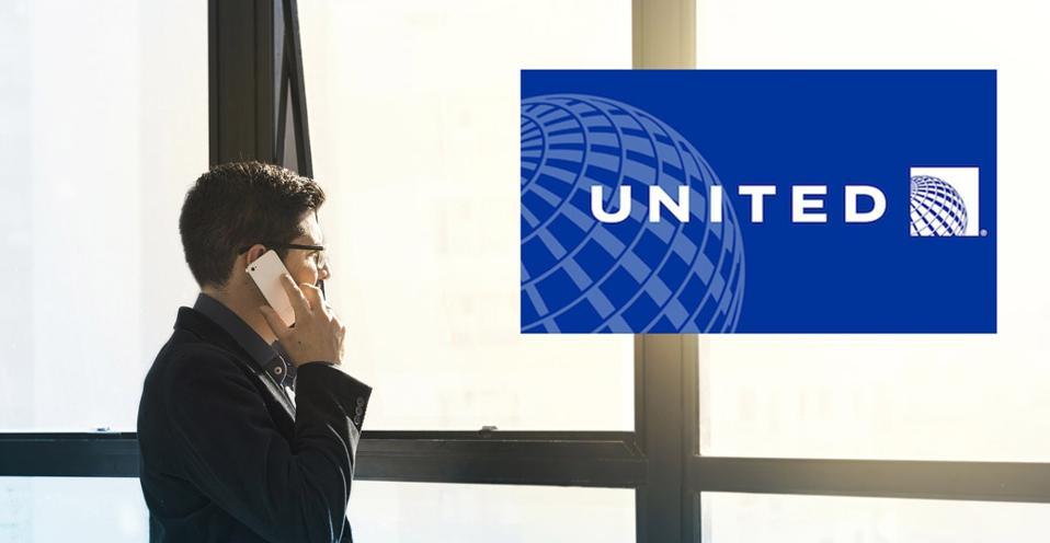 Mobile phone call, United 1K service desk