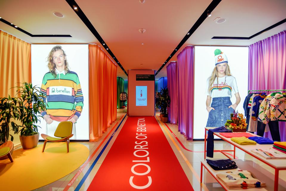 Benetton's Santa Monica pop-up is the brand's foray into re-approaching the US consumer through brick and mortar.
