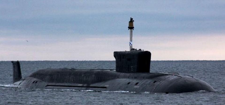 Borei Class Ballistic Missile Submarine (SSBN)
