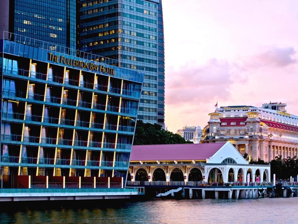 The Fullerton Bay Hotel and Clifford Pier.