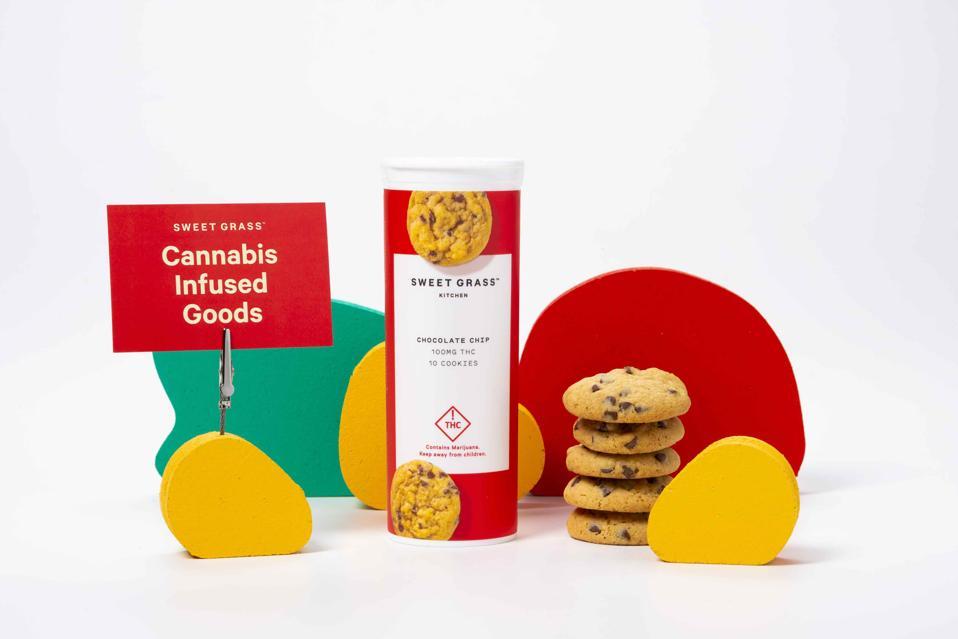 sweet grass cookies display