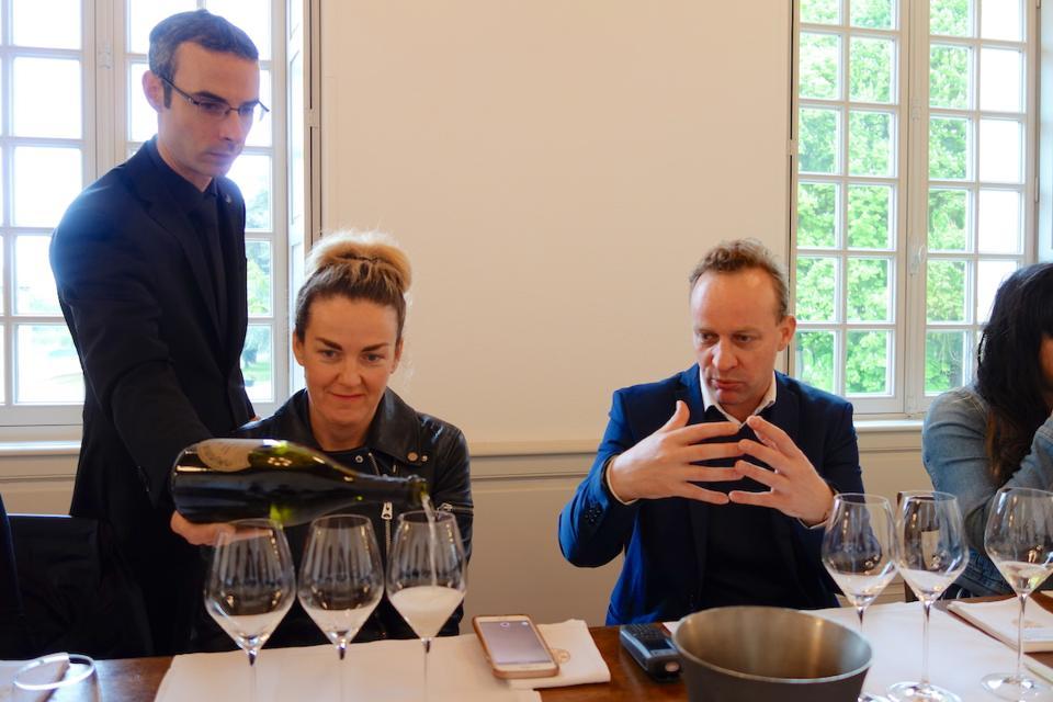 Dom Perignon tasting