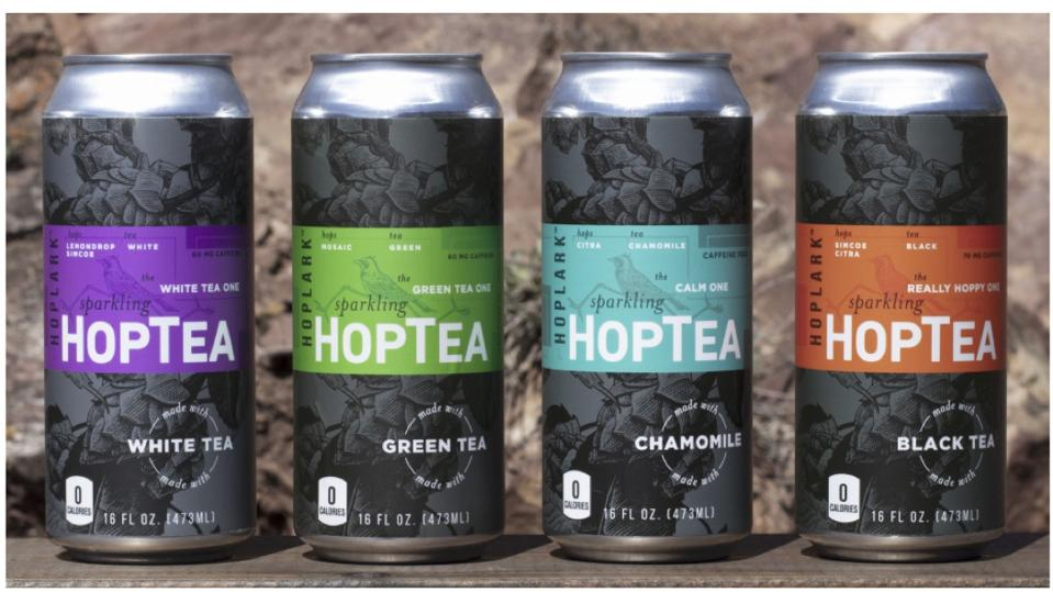 HopTea is gluten free and has zero calories