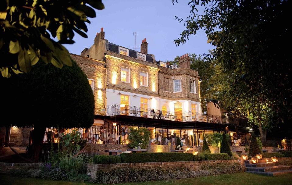 The Bingham Riverhouse hotel in Richmond, London