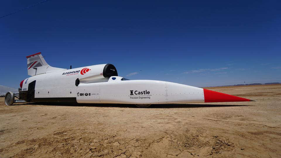 Land Speed Record >> Bloodhound Hits 334 Mph Prepping For New Land Speed Record