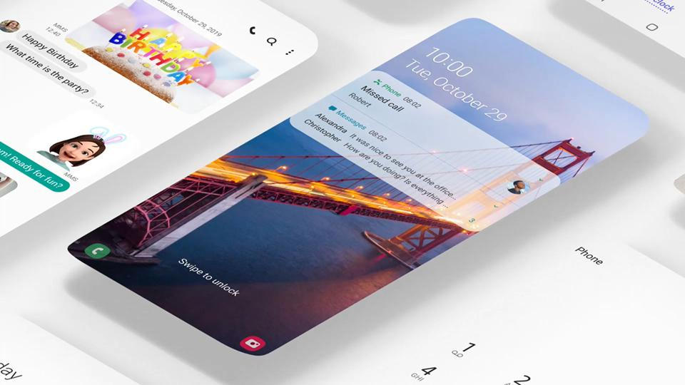 Samsung Improves And Expands The Mobile Experience With One UI 2