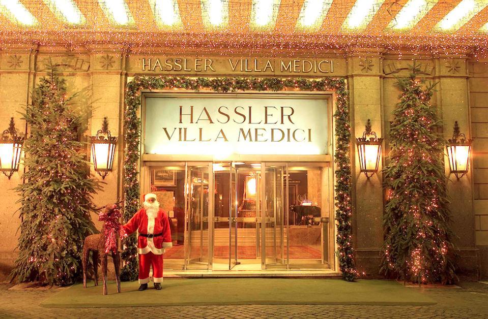 The Hotel Hassler.