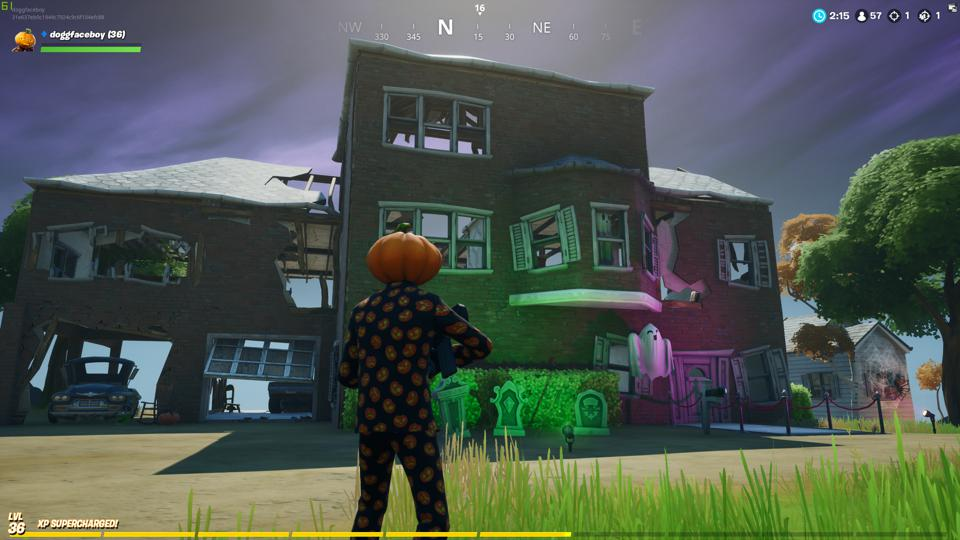 Fortnite Ghost Town