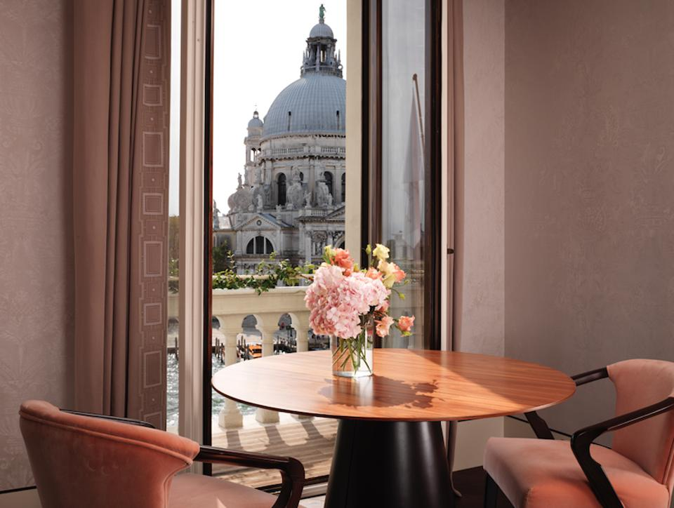 A view from the St. Regis Venice.