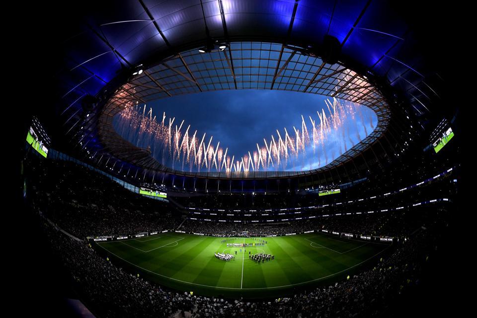 Tottenham Hotspur stadium populous