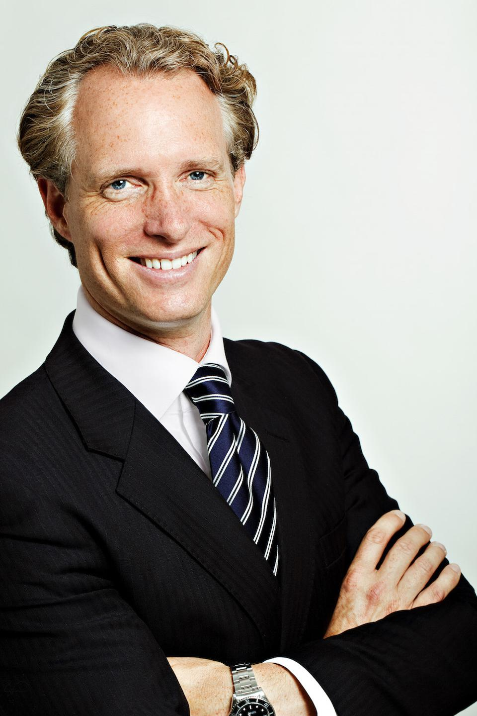 Michael Patrick Struck, CEO of Germany's Ruby Hotels