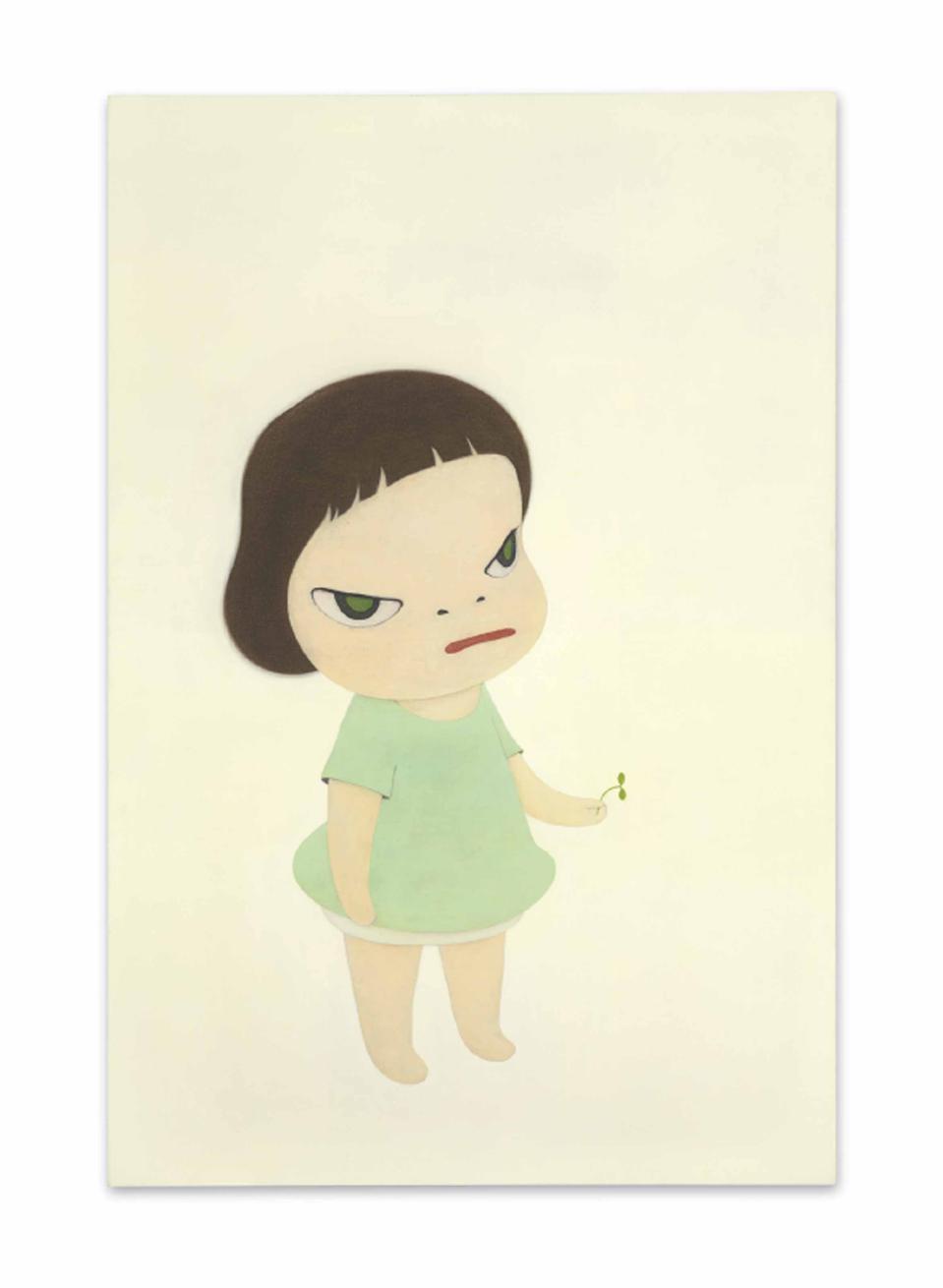 Yoshitomo Nara's ″The Little Ambassador″