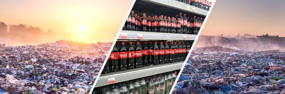 Coke was named the largest plastic polluter in the world