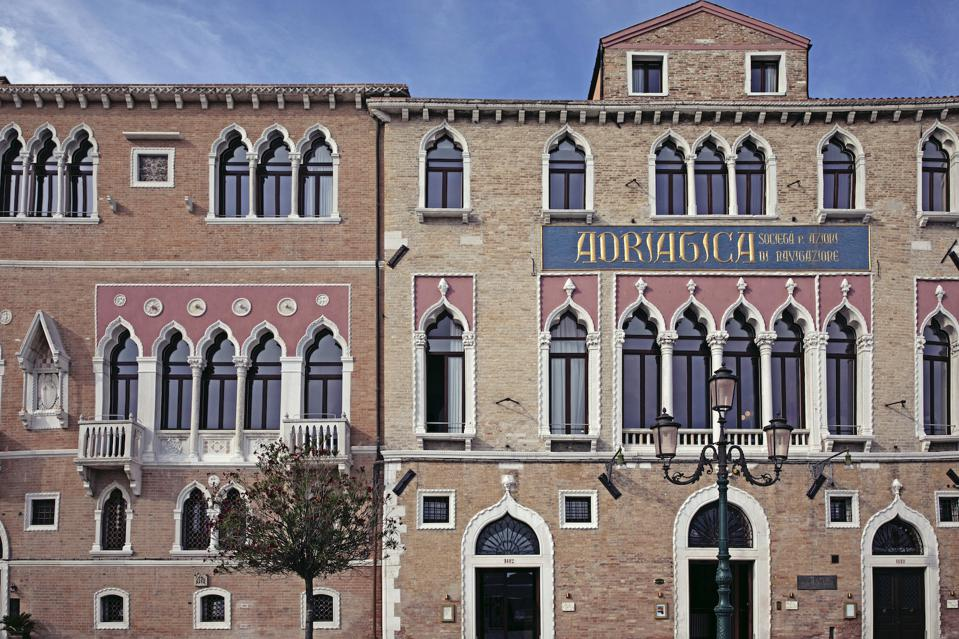 The exterior of Il Palazzo Experimental.