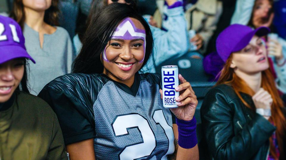 BABE wine NFL sports sponsorship