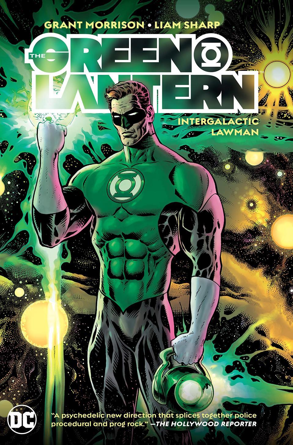 Official image for DC Comics' ″Green Lantern Vol. 1: Intergalactic Lawman″