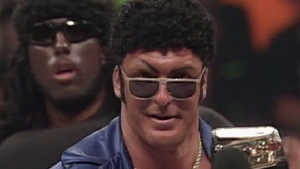 WWE Blackface Jordan Myles D-Generation X Triple H Nation of Domination