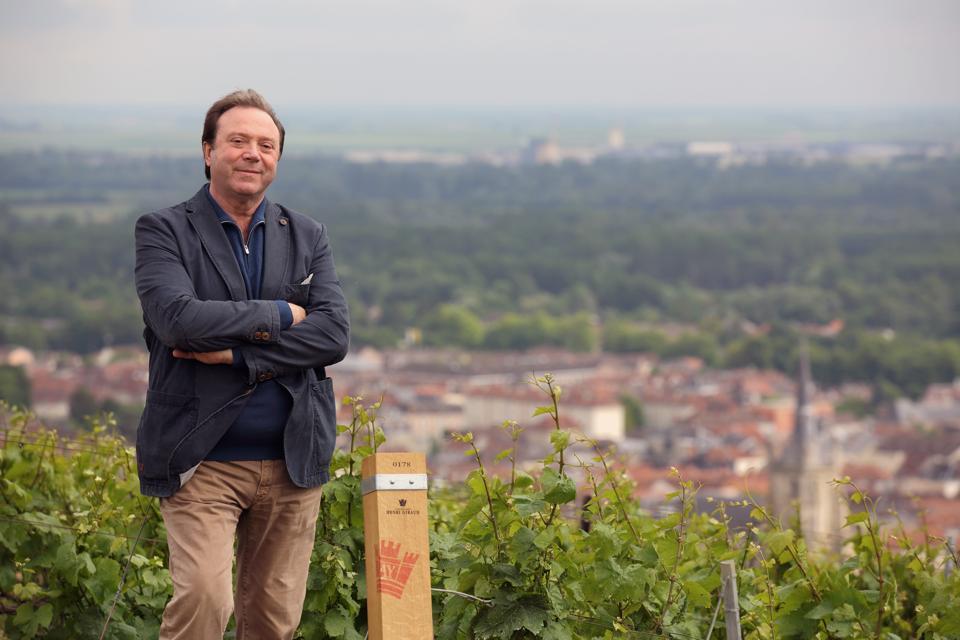 Claude Giraud of Champagne Henri Giraud