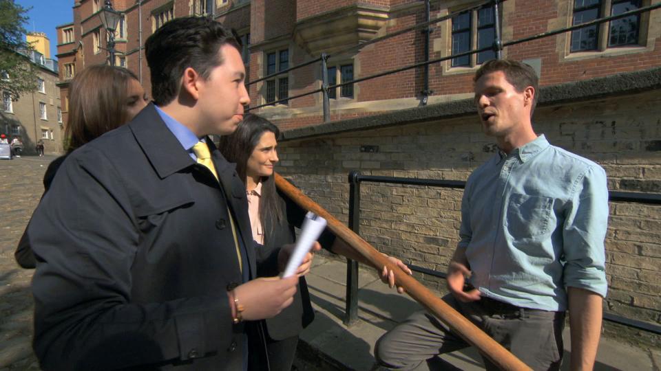 The apprentice episode 5 candidates show off negotiation skills.
