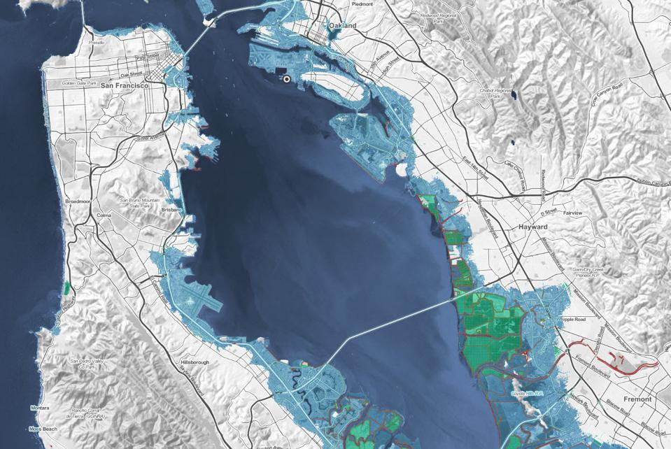 shocking new maps show how sea level rise will destroy