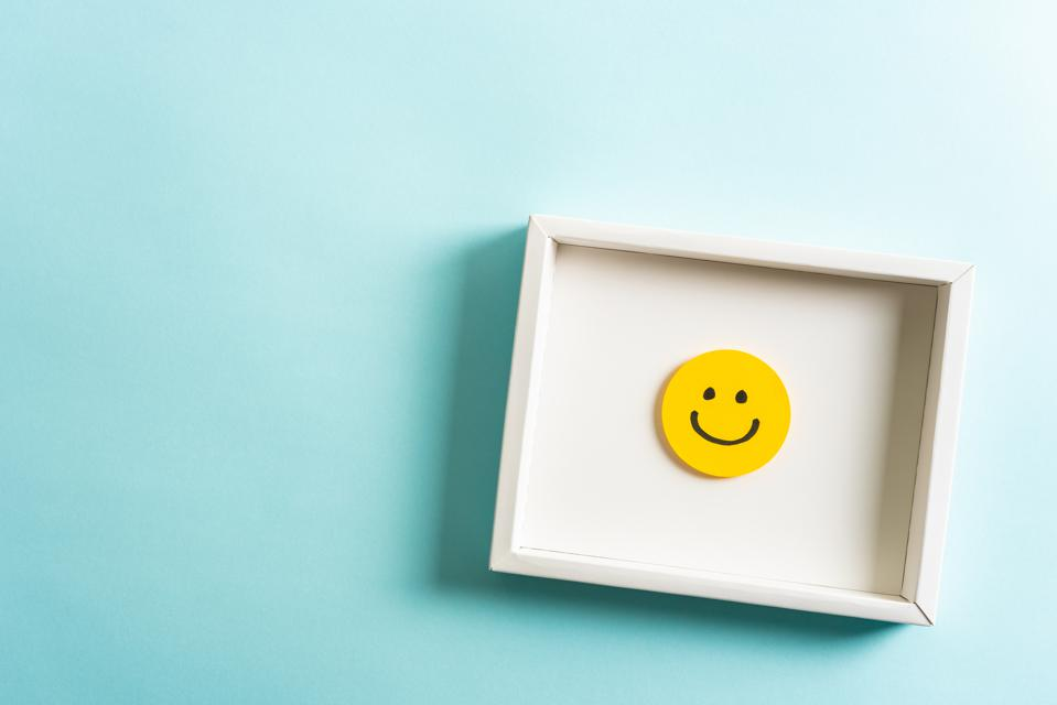 Concept of well-being and employee feedback.