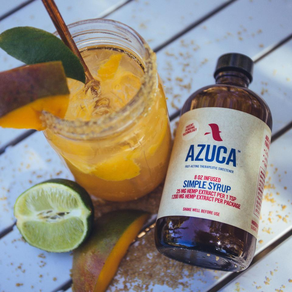 Azuca Simple Syrup, Ladies of Paradise, hemp extract, cooking with cannabis