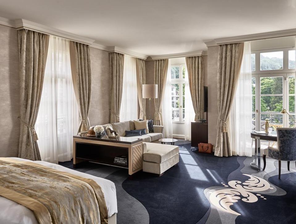 The new rooms at the Hotel Quellenhof, Grand Resort Bad Ragaz.