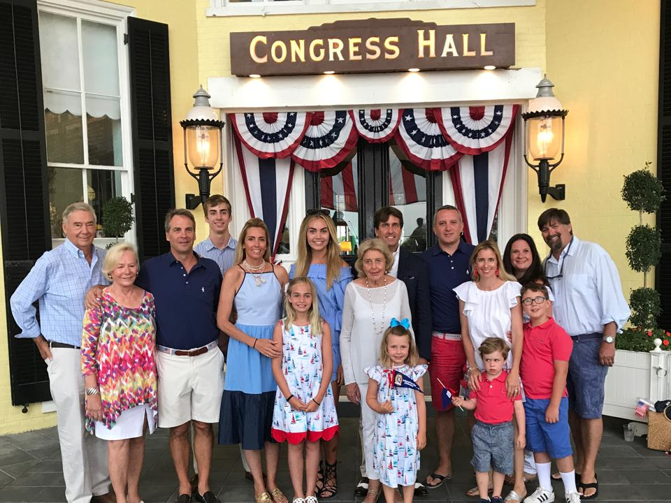 Bashaw family Congress Hall Cape May
