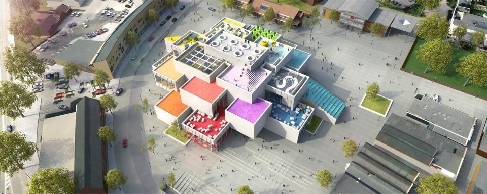The LEGO Sustainable Materials Center in Billund, Denmark